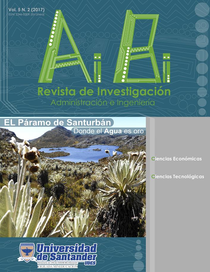 Revista de Investigación Administración e Ingeniería