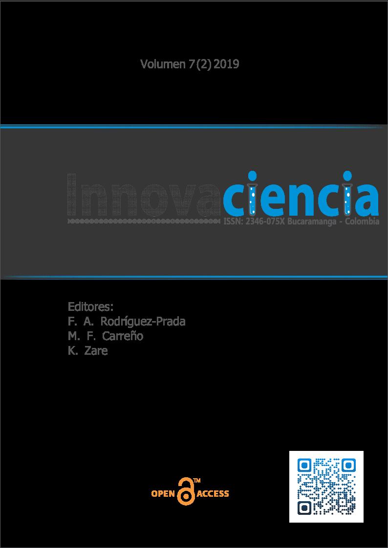 Revista Innovaciencia Facultad de Ciencias Exactas, Físicas y Naturales